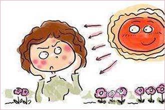 女性怀孕之后得白癜风的症状是什么
