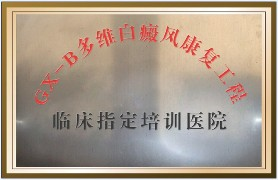 GX-B多维白癜风康复工程临床指定培训医院